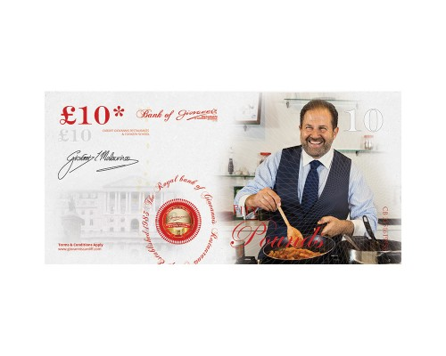 £10 Bank of Giovanni's Gift Voucher